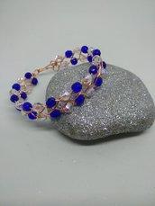 Bracciale wire con cristalli