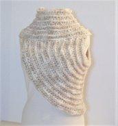 Coprispalle diagonale - mantellina - poncho -Katniss ispirato - bolero - sciarpa - scaldaspalle - Scialle -Stola