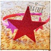 Cerchietti stelle glitterate