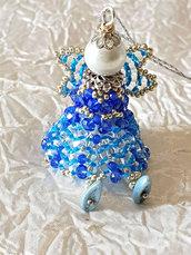 Decorazione per Albero angelo Miriam – Linea decorazioni per Albero  idee regalo,fatto a mano, natale,gift ideas, handmade, christmas,