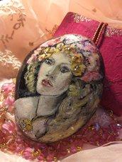 Dama in fiore