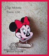Clip per catenella porta ciuccio Minnie