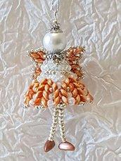 Decorazione per Albero angelo Ariel – Linea decorazioni per Albero idee regalo,fatto a mano, natale,gift ideas, handmade, christmas,