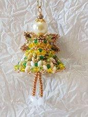 Decorazione per Albero angelo Raphael – Linea decorazioni per Albero idee regalo,fatto a mano, natale,gift ideas, handmade, christmas,