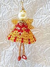 Decorazione per Albero angelo Uriel – Linea decorazioni per Albero idee regalo,fatto a mano, natale,gift ideas, handmade, christmas,