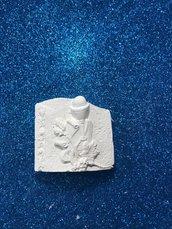 Icona prima comunione gesso ceramico profumato per fai da te