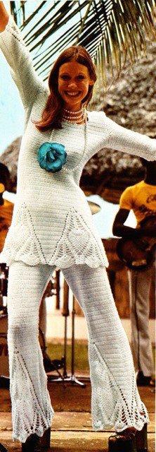 Schema uncinetto maglia pantaloni