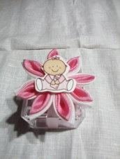 Scatolina nascita rosa