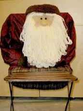 Decorazione Schienale Sedia Babbo Natale - SUPER OFFERTA