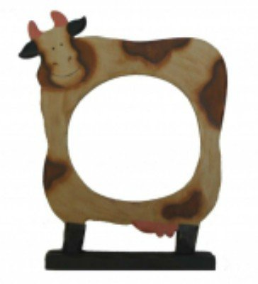 Cornice Mucca con Piedistallo