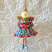 Decorazione per Albero angelo Haniel – Linea decorazioni per Albero idee regalo,fatto a mano, natale,gift ideas, handmade, christmas,