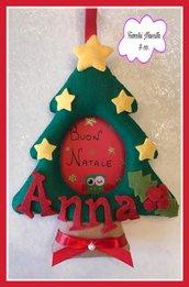 Cornicetta albero di Natale.