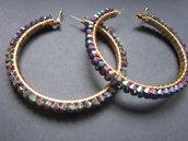 Orecchini a cerchio - Multicolor