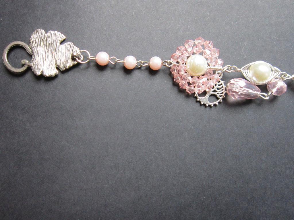 Bracciale rosa semplice