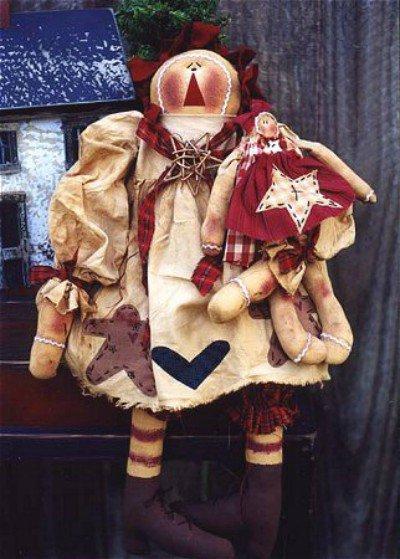 Schema Bambole Stile Primitivo