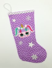 Calza della befana, lol surprise unicorno, un piccolo cadeau in omaggio!