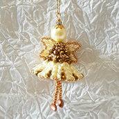 Decorazione per Albero angelo Rochel – Linea decorazioni per Albero ,idee regalo,fatto a mano, natale,gift ideas, handmade, christmas,