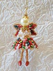Decorazione per Albero angelo Giuseppe – Linea decorazioni per Albero,idee regalo,fatto a mano, natale,gift ideas, handmade, christmas,