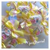 Confettata primo compleanno,  arcobaleno