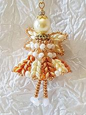 Decorazione per Albero angelo Kamael – Linea decorazioni per Albero idee regalo,fatto a mano, natale,gift ideas, handmade, christmas,