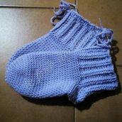Babbucce o calze da notte ad uncinetto per donna/uomo