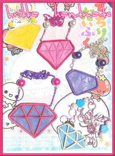 Collane diamanti Kawaii - Scene Queen