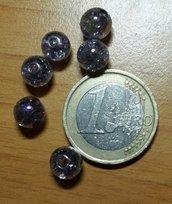 50 Perle perline 8 mm per decorazioni bomboniere Accessori bigiotteria, orecchini, bracciale