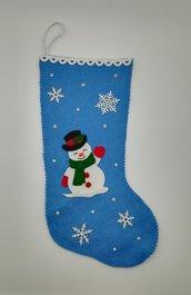 Calza della befana, pupazzo di neve, un piccolo cadeau in omaggio!