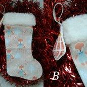 Calze della Befana, calze natalizie, calze epifania