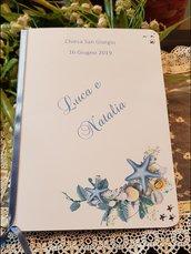 Libretto Messa Matrimonio decoro mare