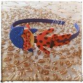 Cerchietto Ladybag coccinella