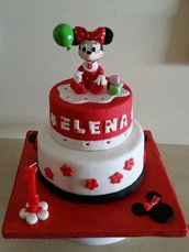 Cake Topper Baby Minnie