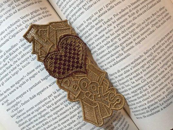 """Segnalibro """"I love Books"""""""