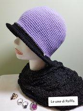 cappello cloche in lana
