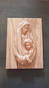 Bassorilievo famiglia santa