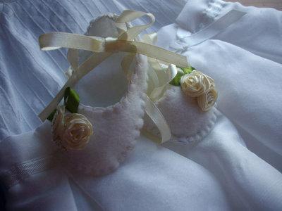 scarpette feltro modello ballerina