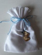 Ciondolo Orsetto/Piedini per ornare i tuoi sacchetti o bomboniere nascita/battesimo ma anke per altre occasioni con alti soggetti