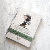 Agenda diario settimanale fattoconilcuore limited edition ad impronta scolastica