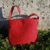 "Maxi bag in lana ""Amarena"""