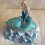 Cerchietto principessa fatto a mano.