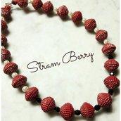 Collane di cartoncino-collane da donna-regalo anniversario-collana di carta-collana riciclata-gioielli di carta