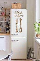 Adesivi per frigo o pareti modello MENU