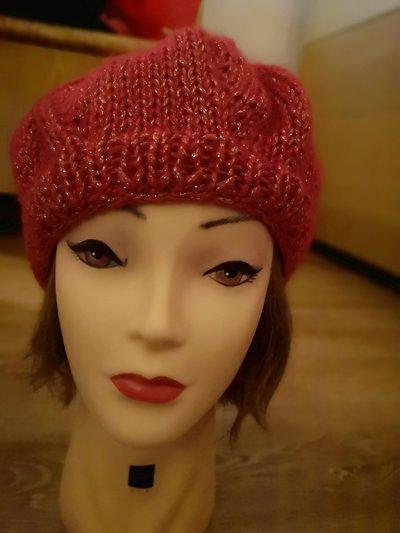 Cappello Donna Corallo