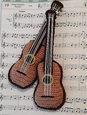 Classic guitar crochet
