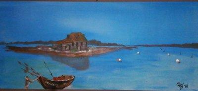 Casa pescatore sull'isola