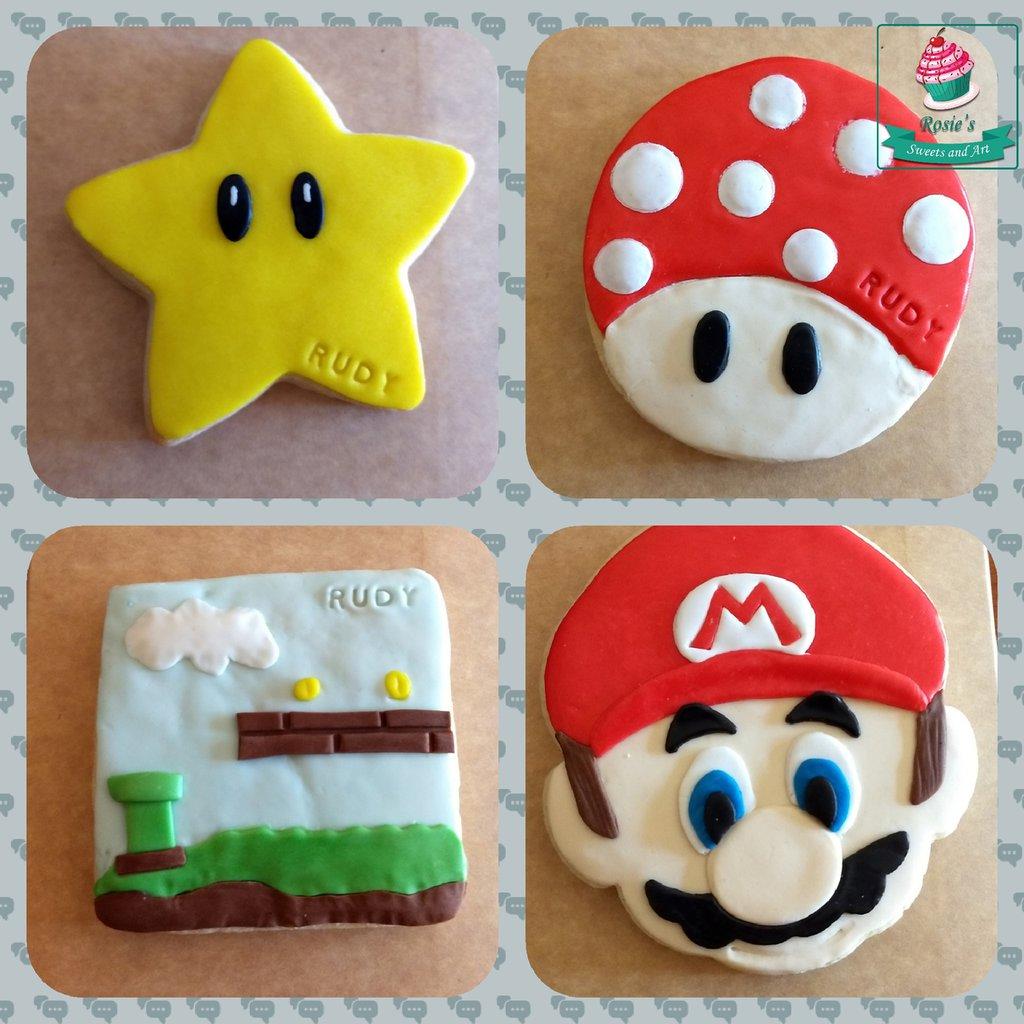 Set biscotti Super Mario