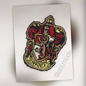 Applicazione termoadesiva Grifondoro Harry Potter patch Griffindor Harry Potter