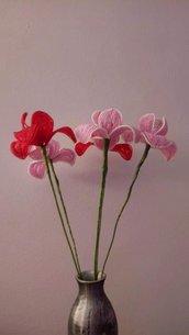Iris fiori di perline