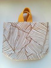 Cestino - borsa in stoffa