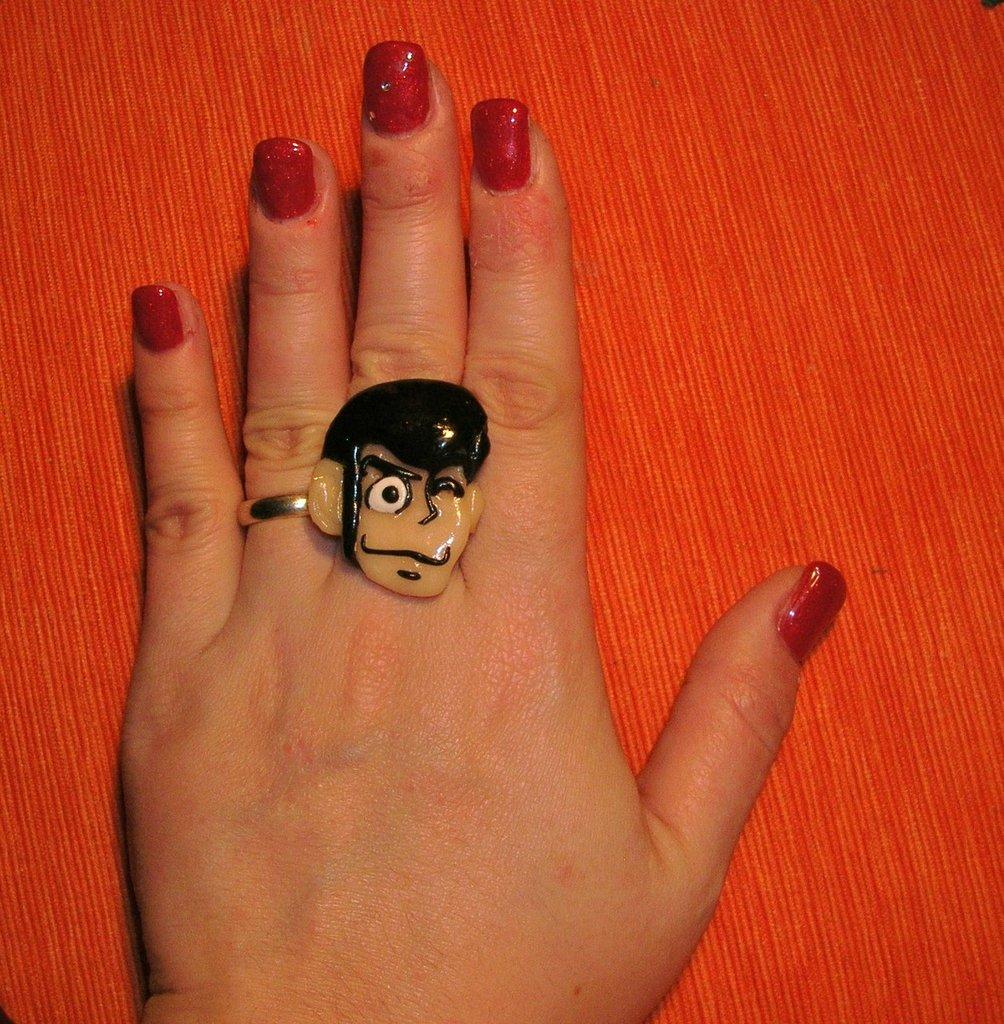 Anello con Lupin